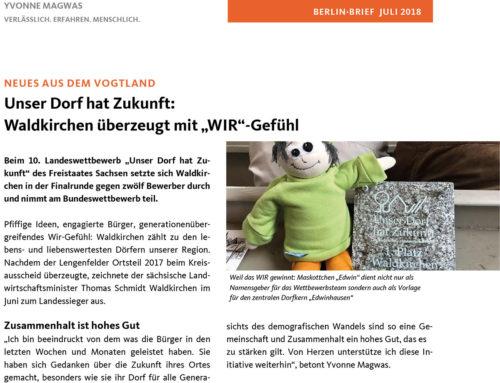 01.07.2018 Berlin Brief – Magwas Berlin Brief
