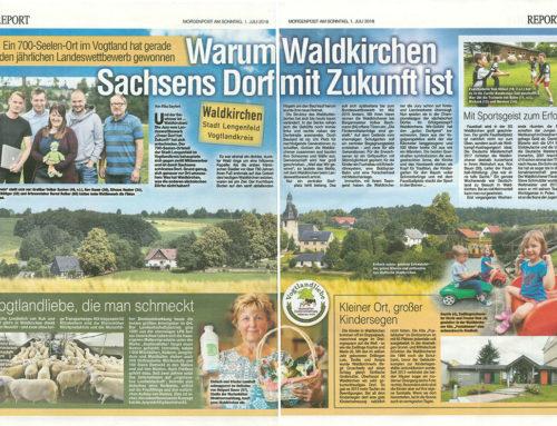 01.07.2018 Morgenpost – Warum Waldkirchen das Dorf mit Zukunft ist