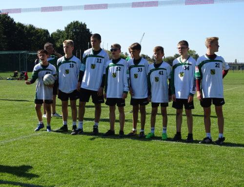 Jungs der SGW beim Deutschlandpokal der U14