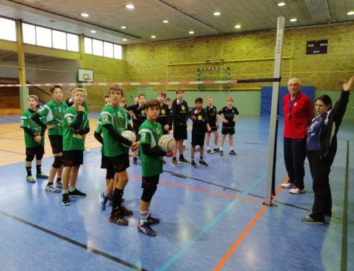Saisonstart der U14m in Delitzsch