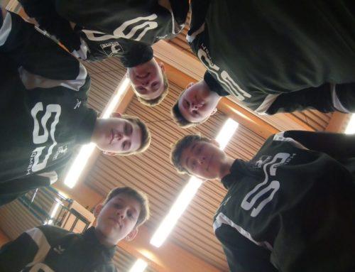 U16 auch in der Halle Sachsenmeister