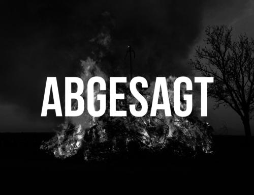 Traurige Gewissenheit: Höhenfeuer fällt aus