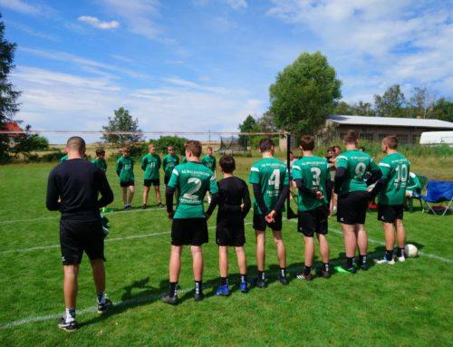 Nach-Corona-Auftakt der U16 in Langebrück