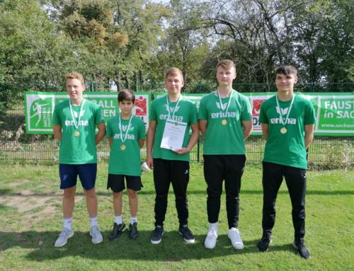 U16-SGW-Jungs Sachsenmeister auf dem Feld!