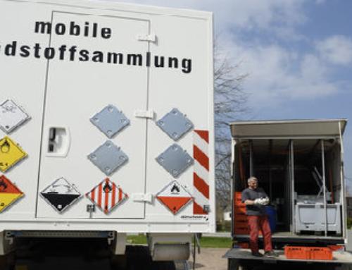KEV-Schadstoffmobil kommt