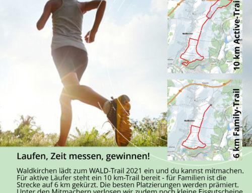 Wald-Trail bis 06.06. verlängert
