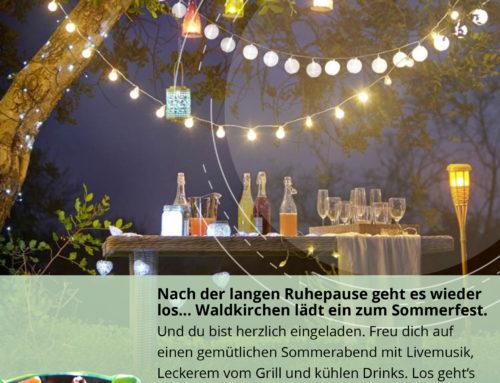 Sommerfest in Waldkirchen