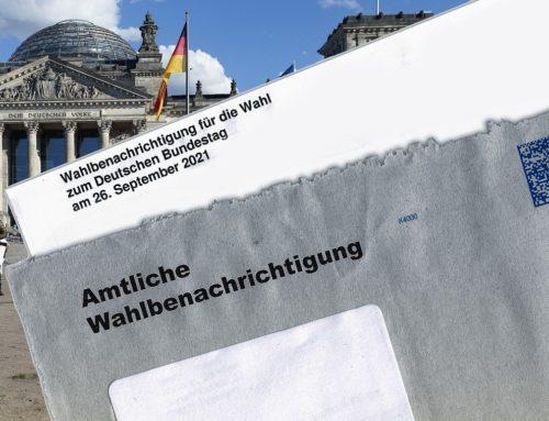 Bundestagswahl: Thema Wahllokal